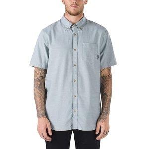 Vans Houser SS Button Down Shirt Mens Size Small